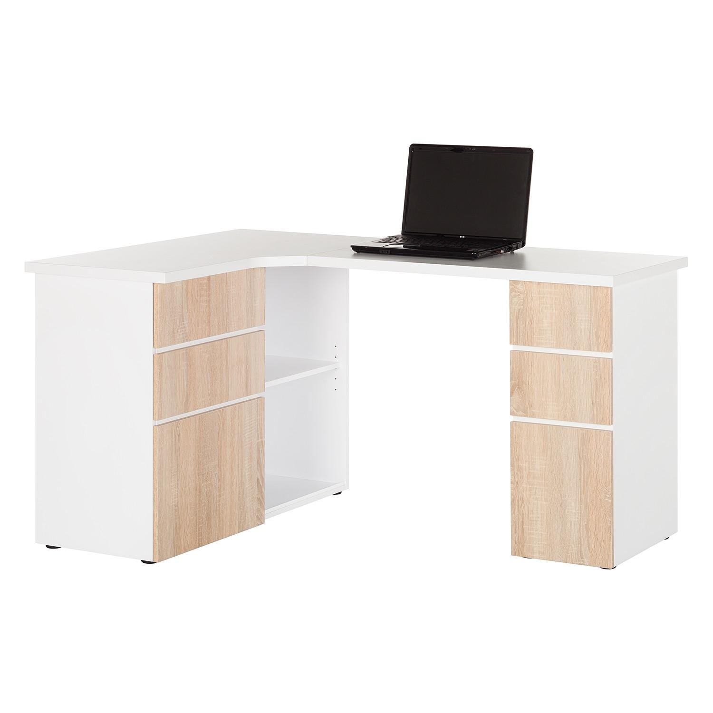 home24 Eck-Schreibtisch Samiera