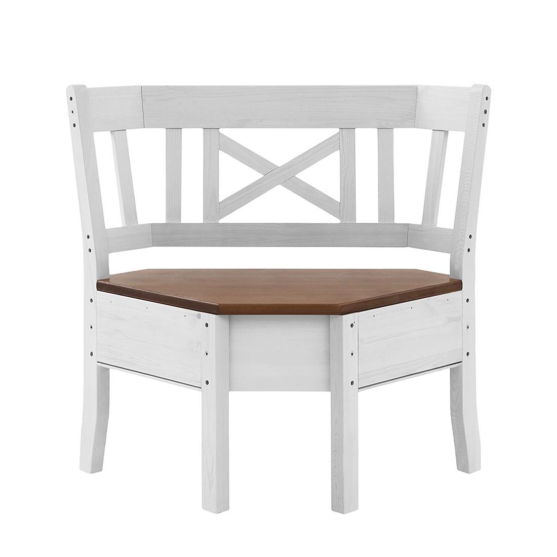 home24 Eckbankelement Fjord | Küche und Esszimmer > Sitzbänke > Eckbänke | Beige | Massivholz - Holz | Maison Belfort