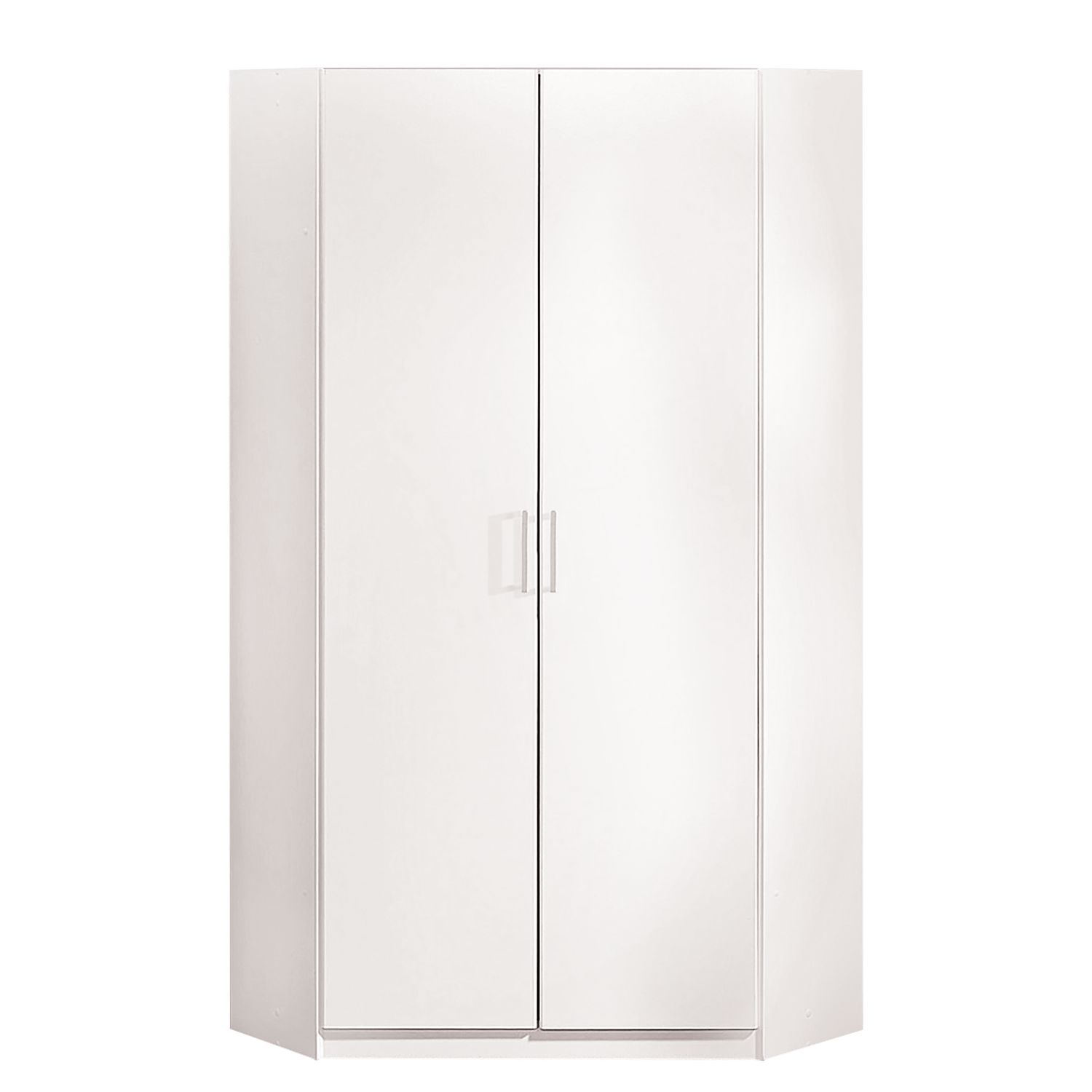 Armoire d'angle Omega - Blanc alpin, Wimex