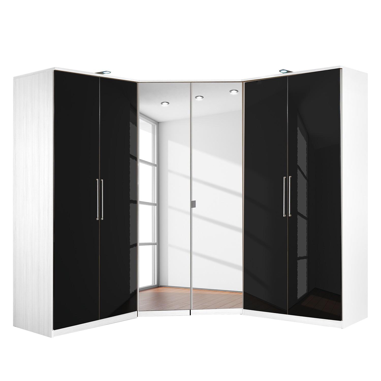 17 sparen eckschrank soala mit spiegel von wimex. Black Bedroom Furniture Sets. Home Design Ideas
