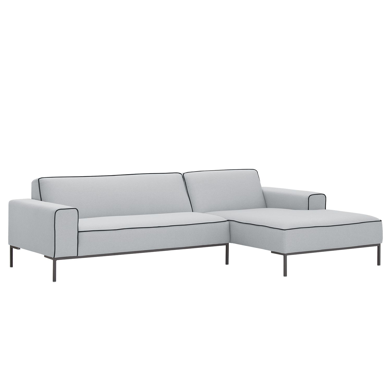 Canapé d'angle Ampio Duo I Tissu