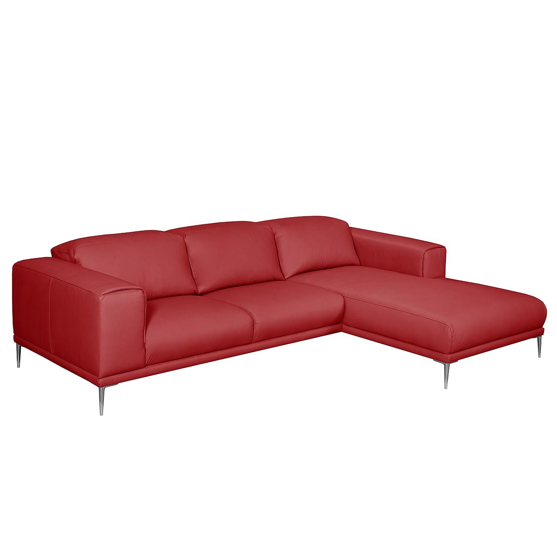 Canapé d'angle Beloha Cuir véritable