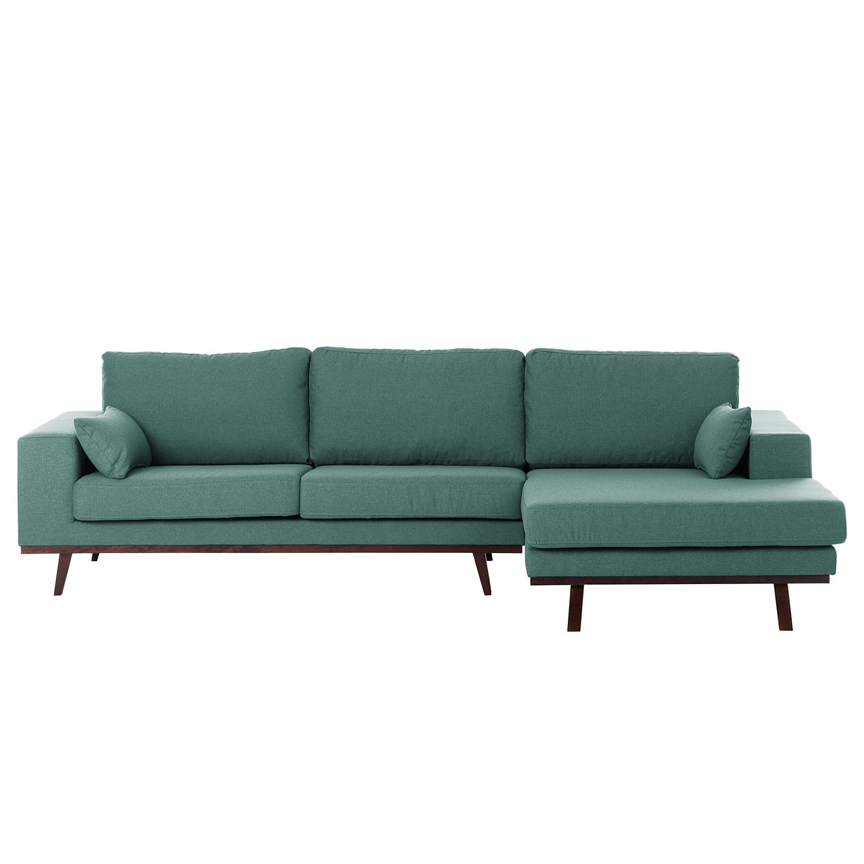 ecksofa billund webstoff aquablau home24 - Inspirierend Wohnzimmer Sofa Aufbau