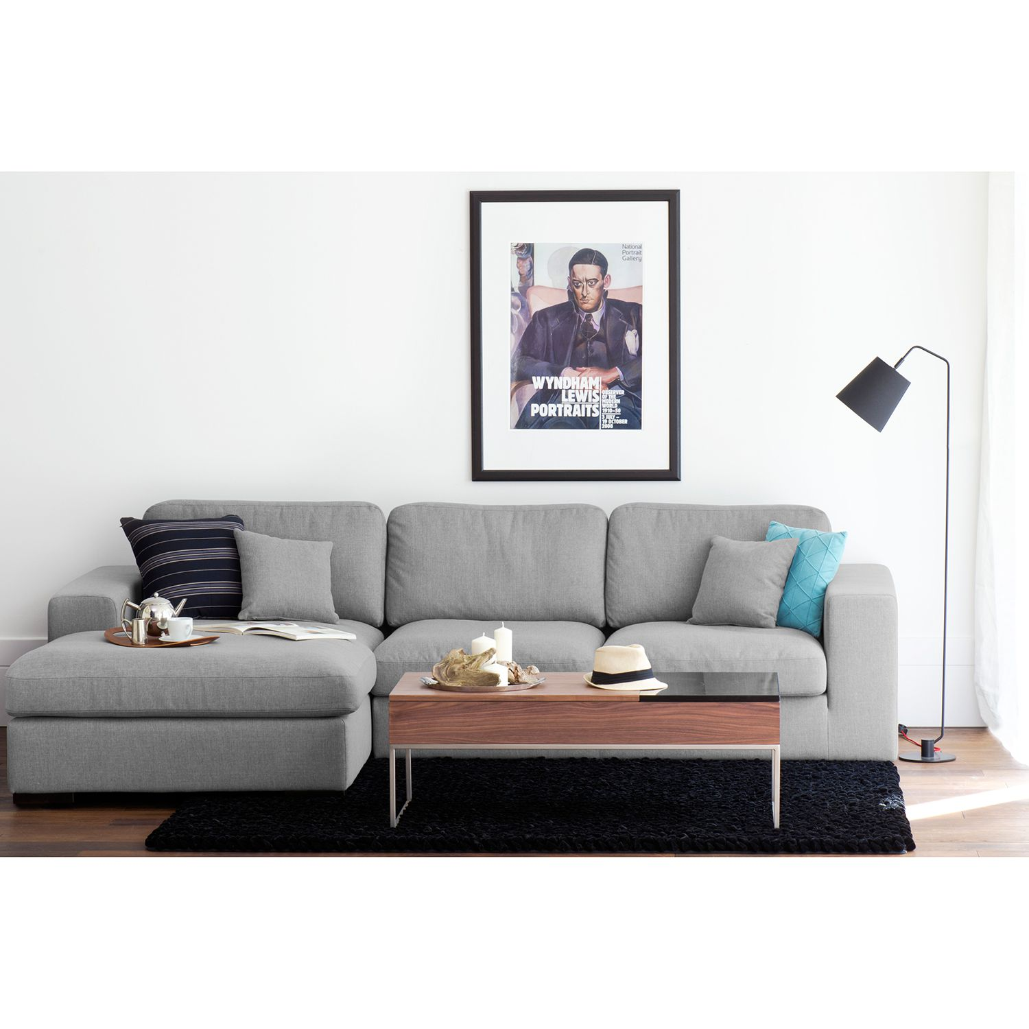 home24 Ecksofa Boston (mit Schlaffunktion)
