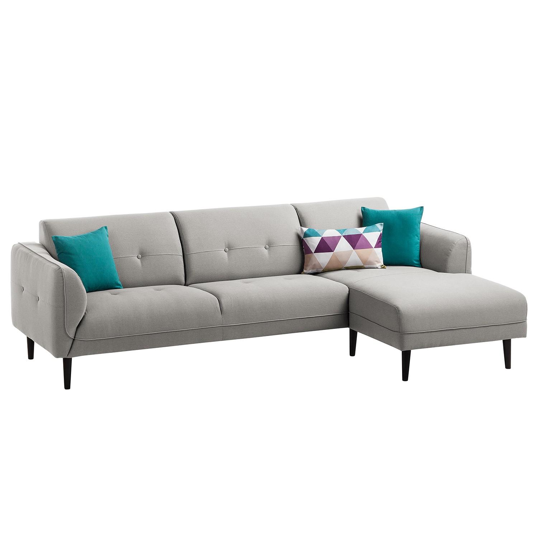 Canapé d'angle Cala I Tissu structuré