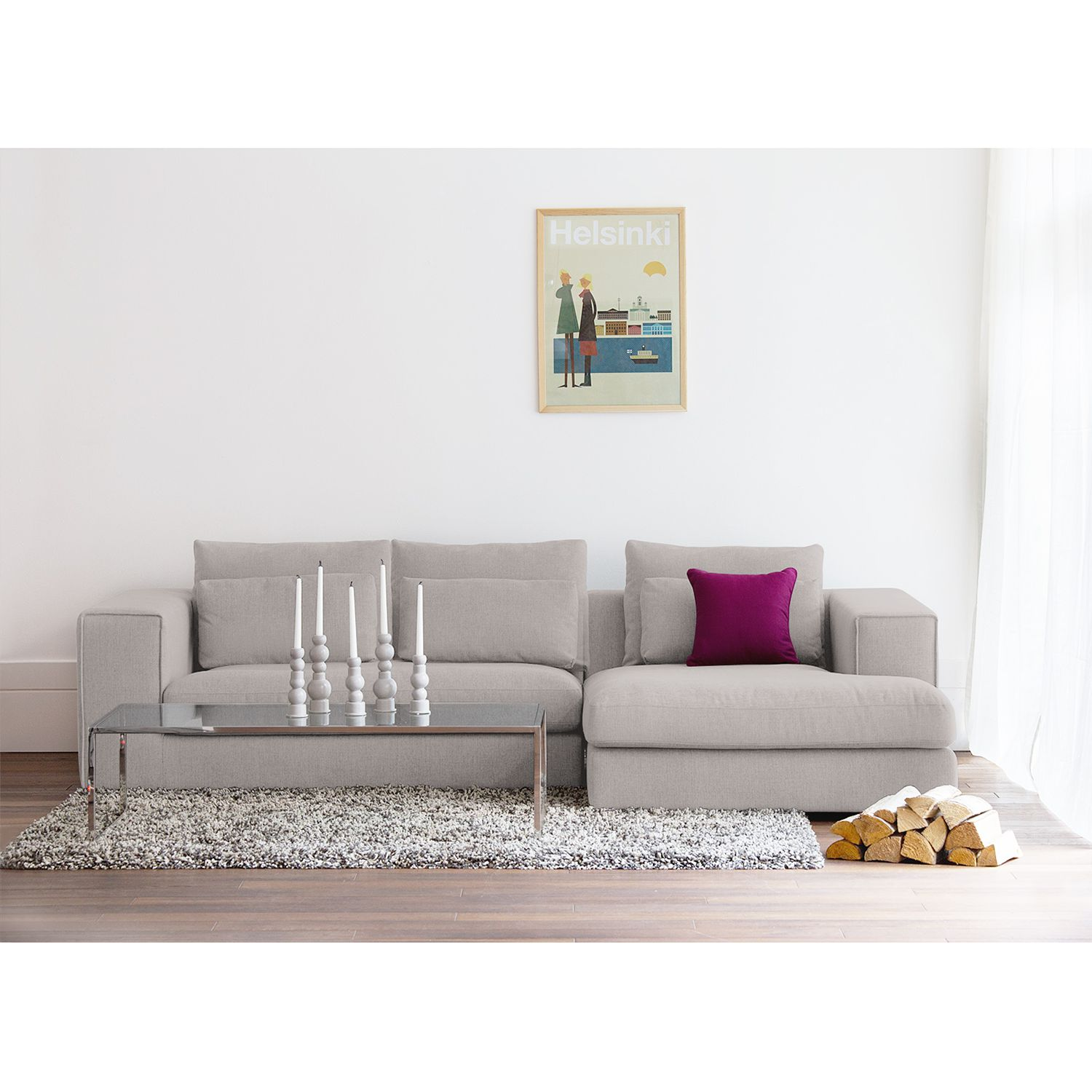 home24 Ecksofa Columbia Webstoff