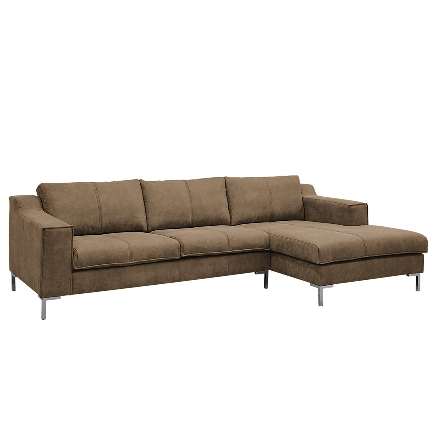 Ecksofa Fortune Antiklederlook