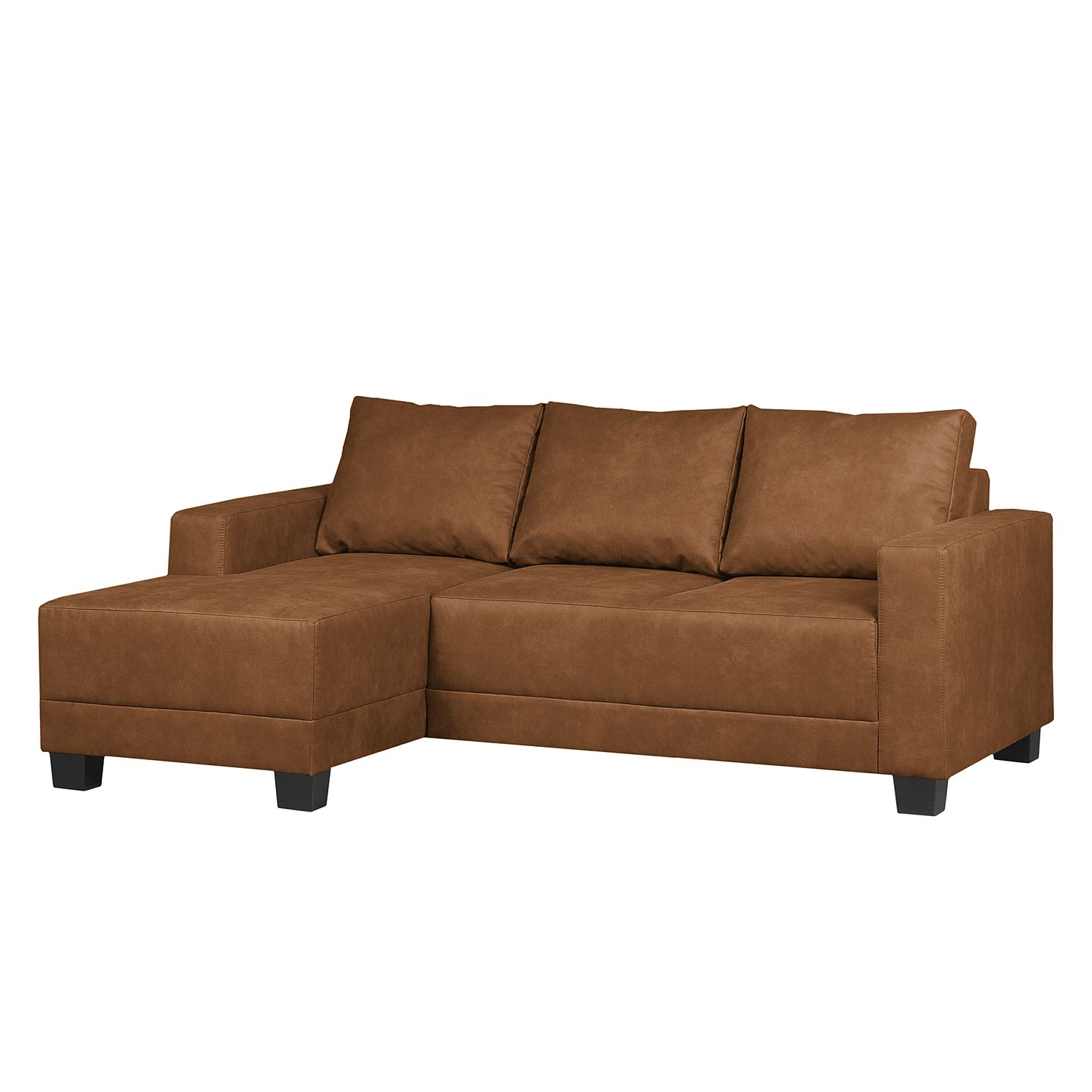 home24 Ecksofa Greenwood Antiklederlook