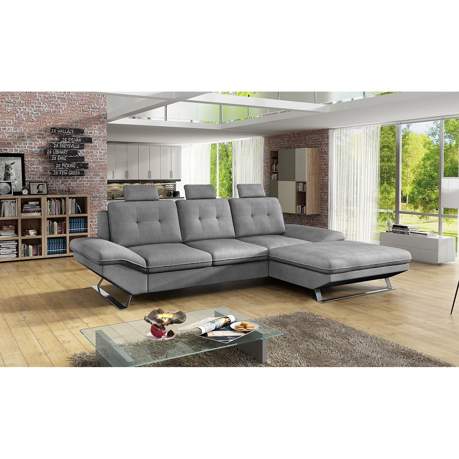 17 sparen ecksofa harmon mit schlaffunktion nur 999 99 cherry m bel home24. Black Bedroom Furniture Sets. Home Design Ideas