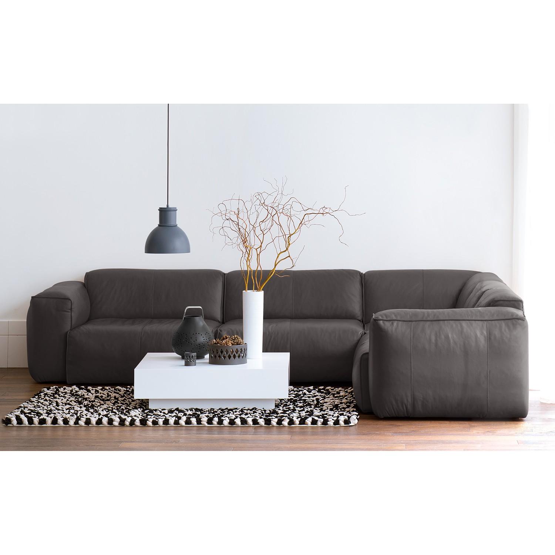 Canapé d'angle Hudson II Cuir véritable