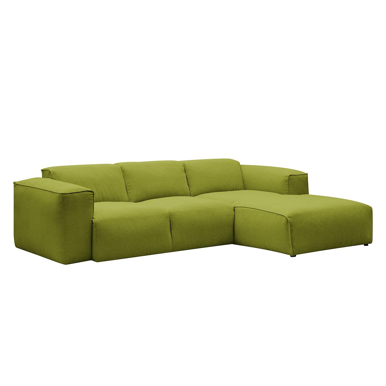 Canapé d'angle Hudson III Tissu