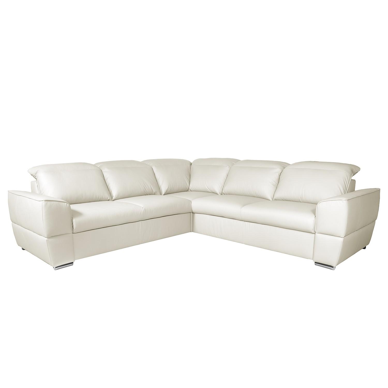Canapé d'angle Jovita Cuir véritable