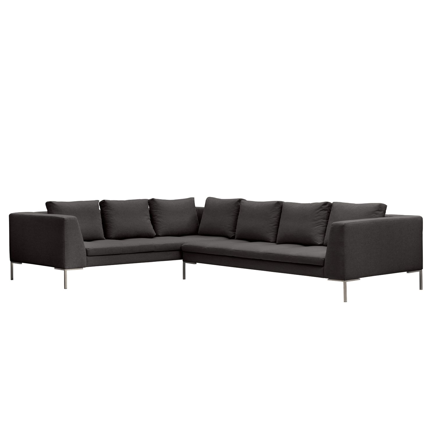 Ecksofa Madison II Webstoff