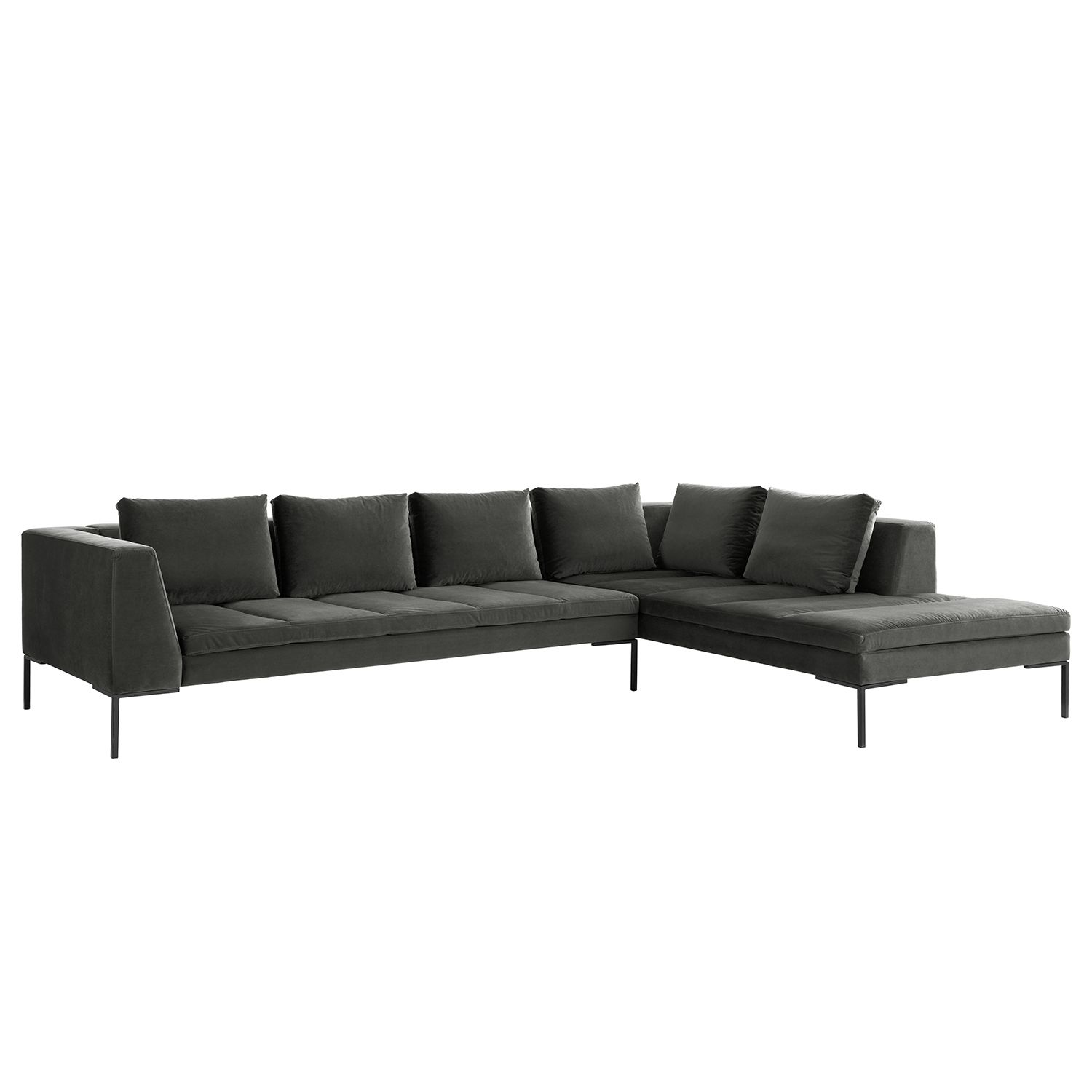 Ecksofa Madison Samt