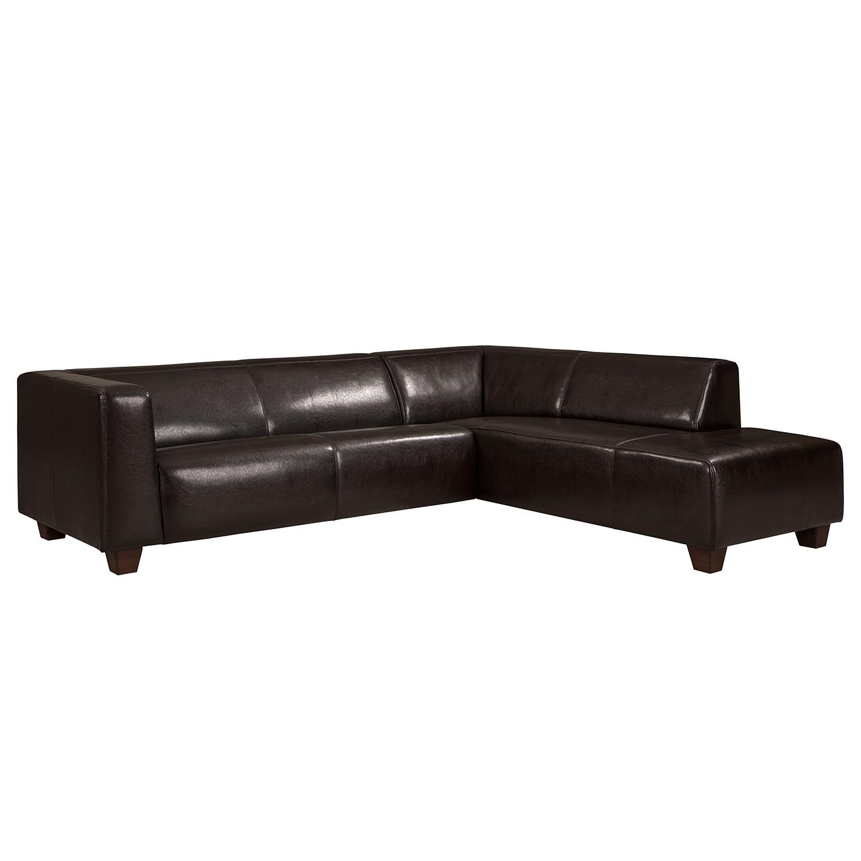 Canapé d'angle Nespolo Cuir véritable