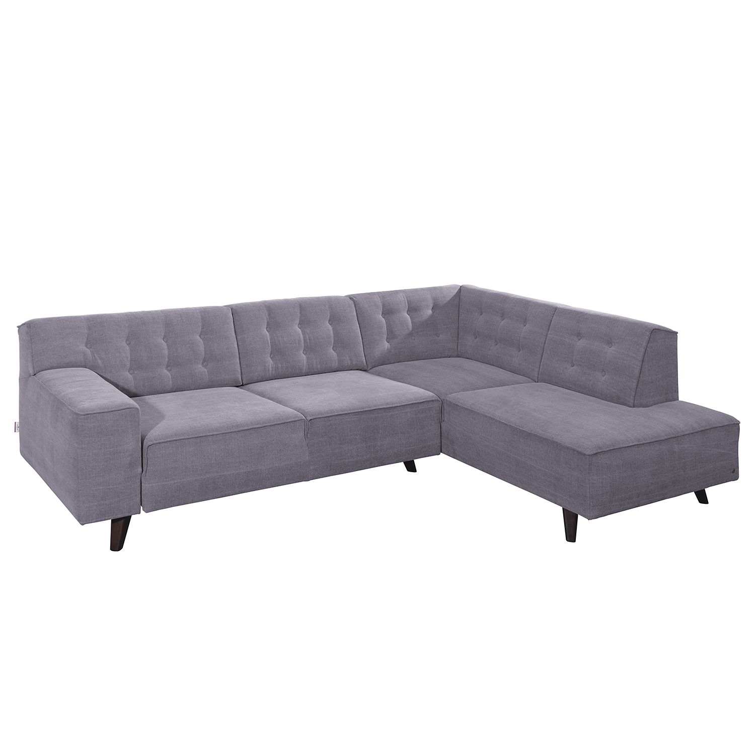 home24 Ecksofa Nordic Chic Webstoff