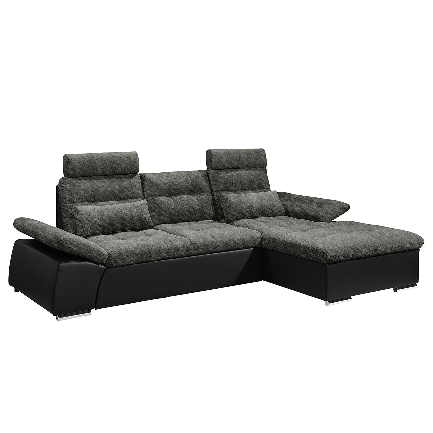 ecksofa puntiro mit schlaffunktion. Black Bedroom Furniture Sets. Home Design Ideas
