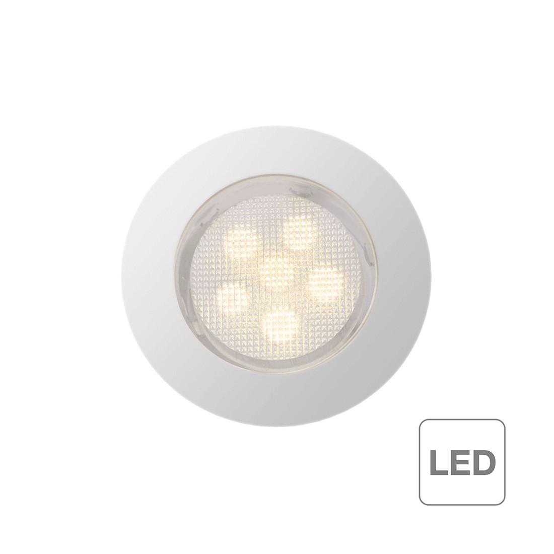 home24 Einbauleuchte Cosa 45 | Lampen > Strahler und Systeme > Möbelaufbaustrahler | Silber | Metall | Brilliant