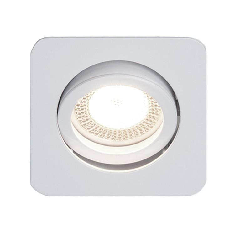 home24 Einbauleuchte Easy Clip | Lampen > Strahler und Systeme | Silber | Metall | Brilliant