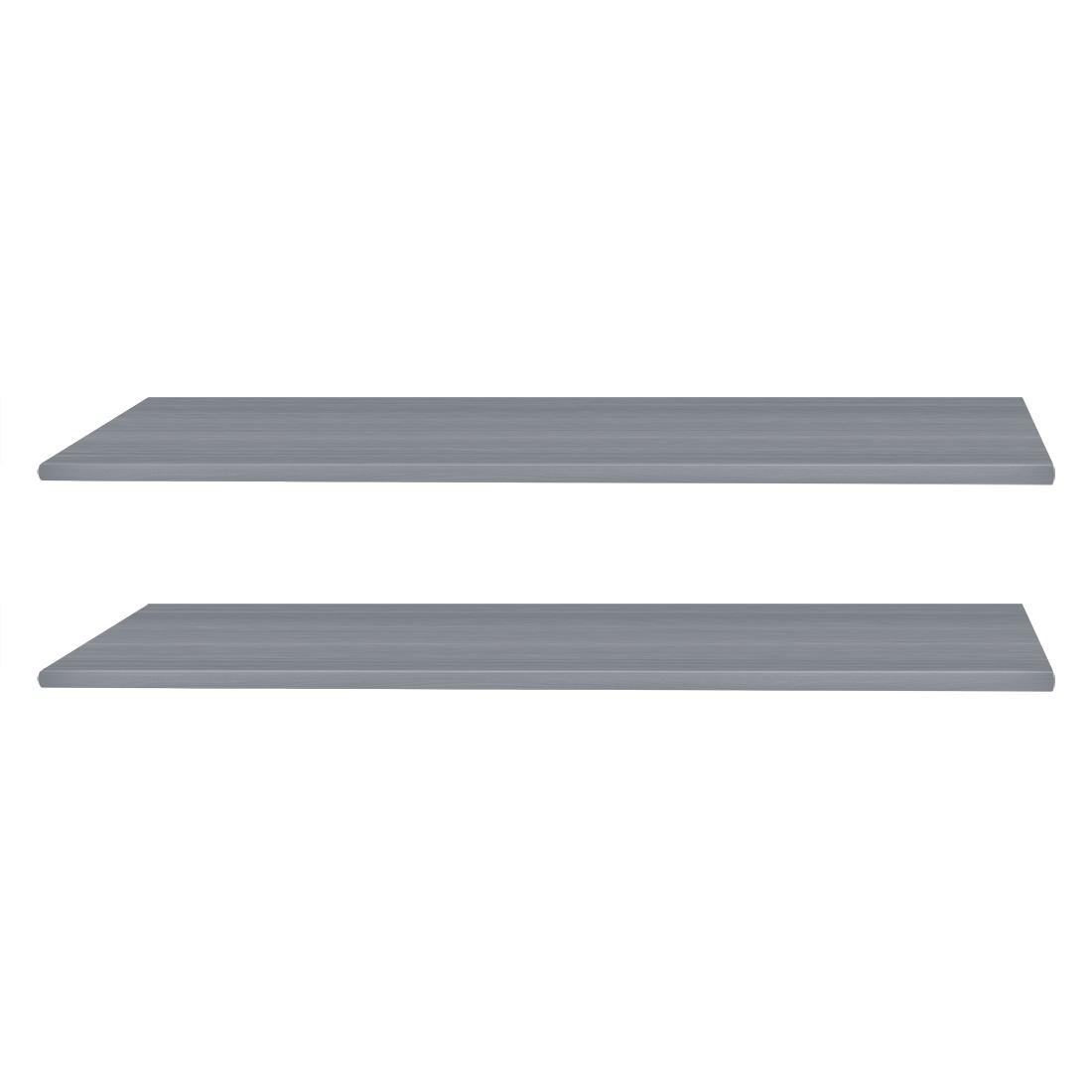 goedkoop Inlegplanken 2 delige set grijs 43cm Wimex