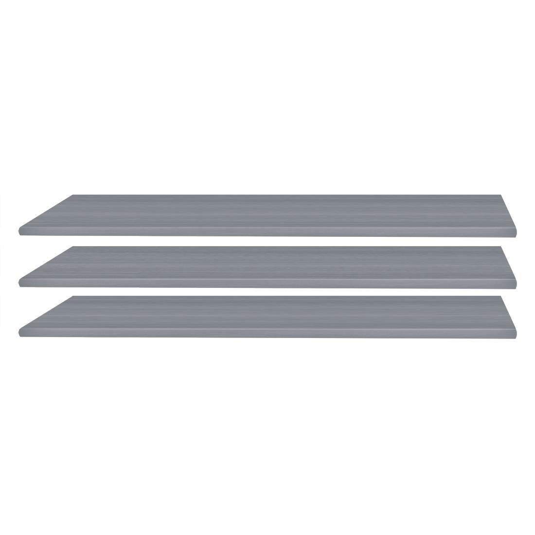 Wimex Einlegeboden Glauzig Grau 43x2x50 cm (BxHxT) Spanplatte
