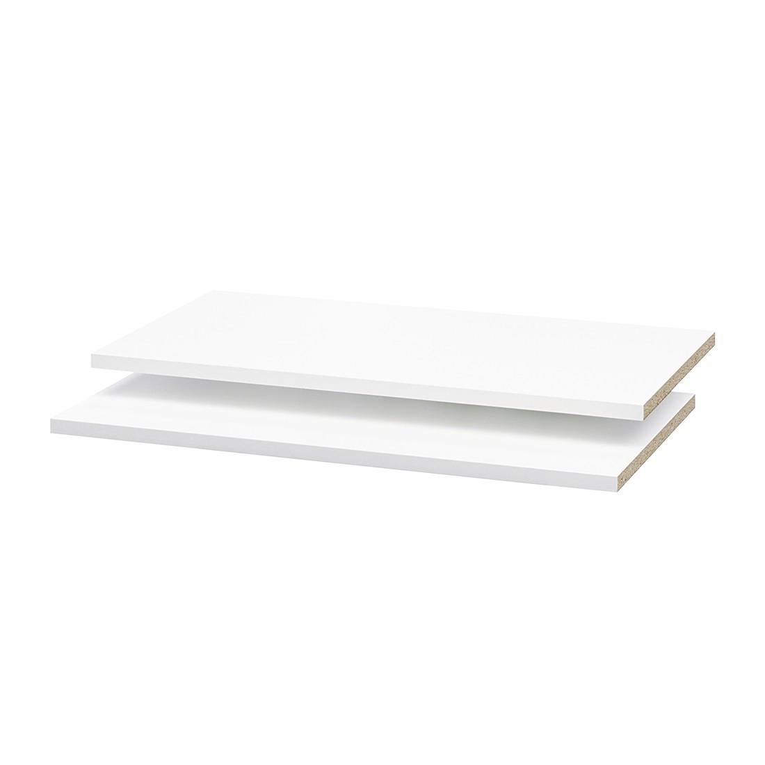 goedkoop Inlegplanken Soft Smart I 2 delige set wit 120cm breed 42cm diep Cs Schmal