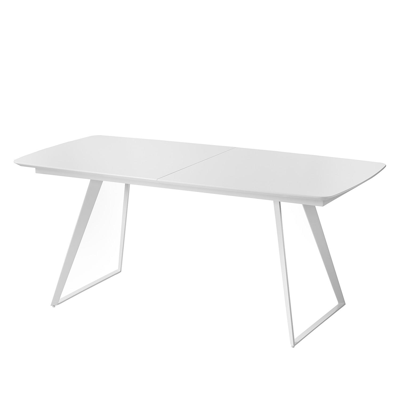 Table à manger Aktan (avec rallonge) - Blanc, Fredriks