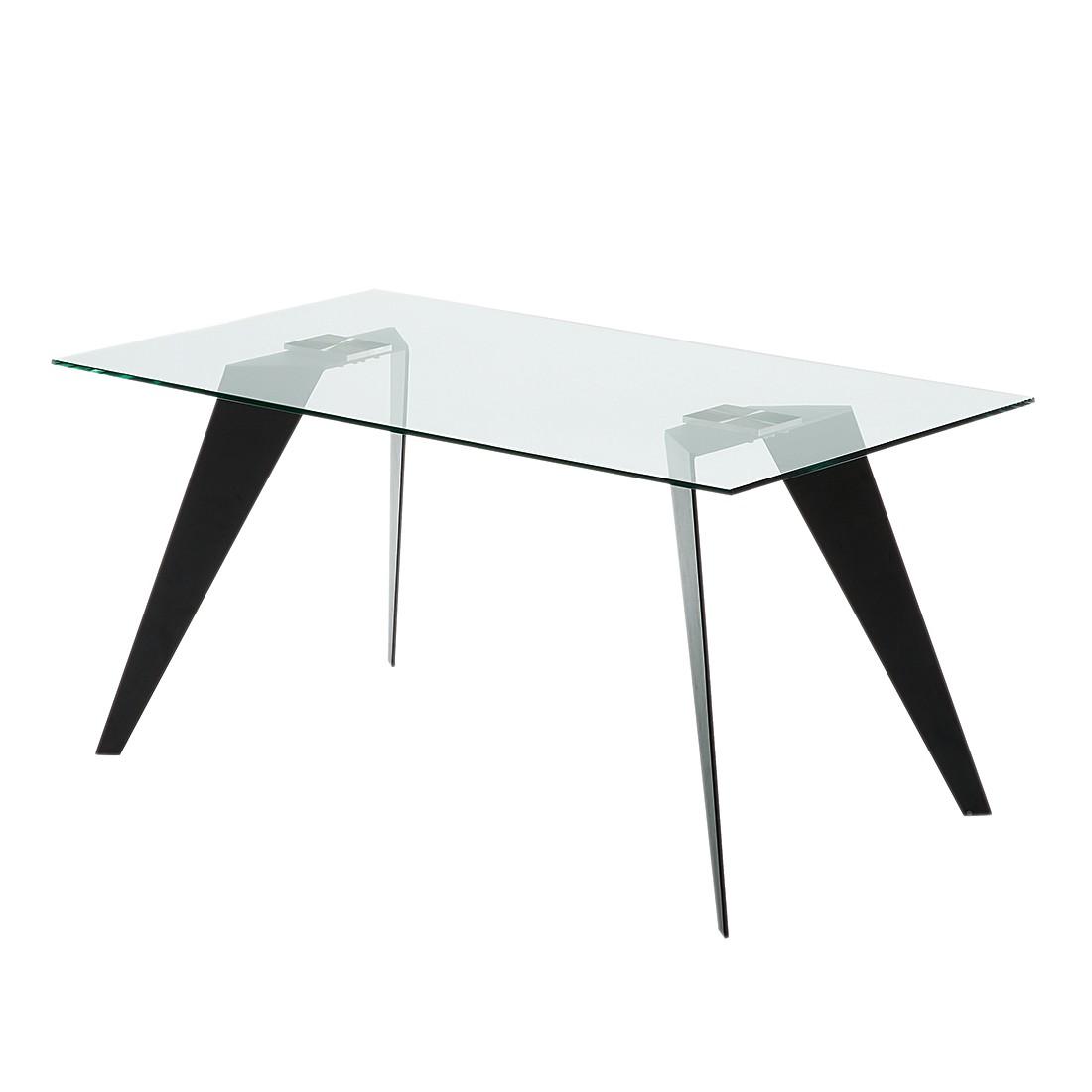 esstisch glas 160 cm preisvergleich die besten angebote online kaufen. Black Bedroom Furniture Sets. Home Design Ideas