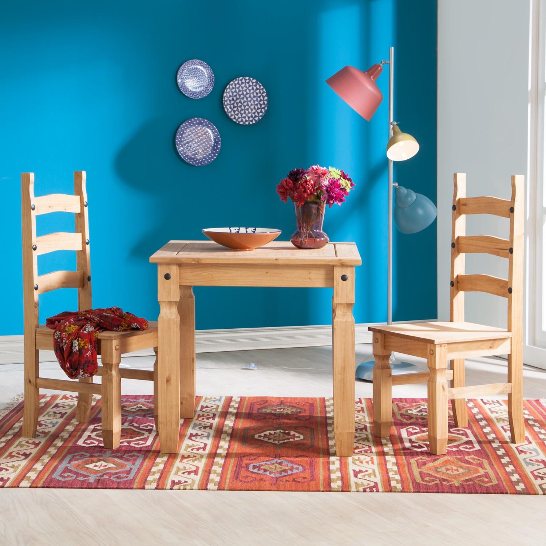 home24 Esstisch Finca Rustica II   Küche und Esszimmer > Esstische und Küchentische   Beige   Massivholz   Maison Belfort