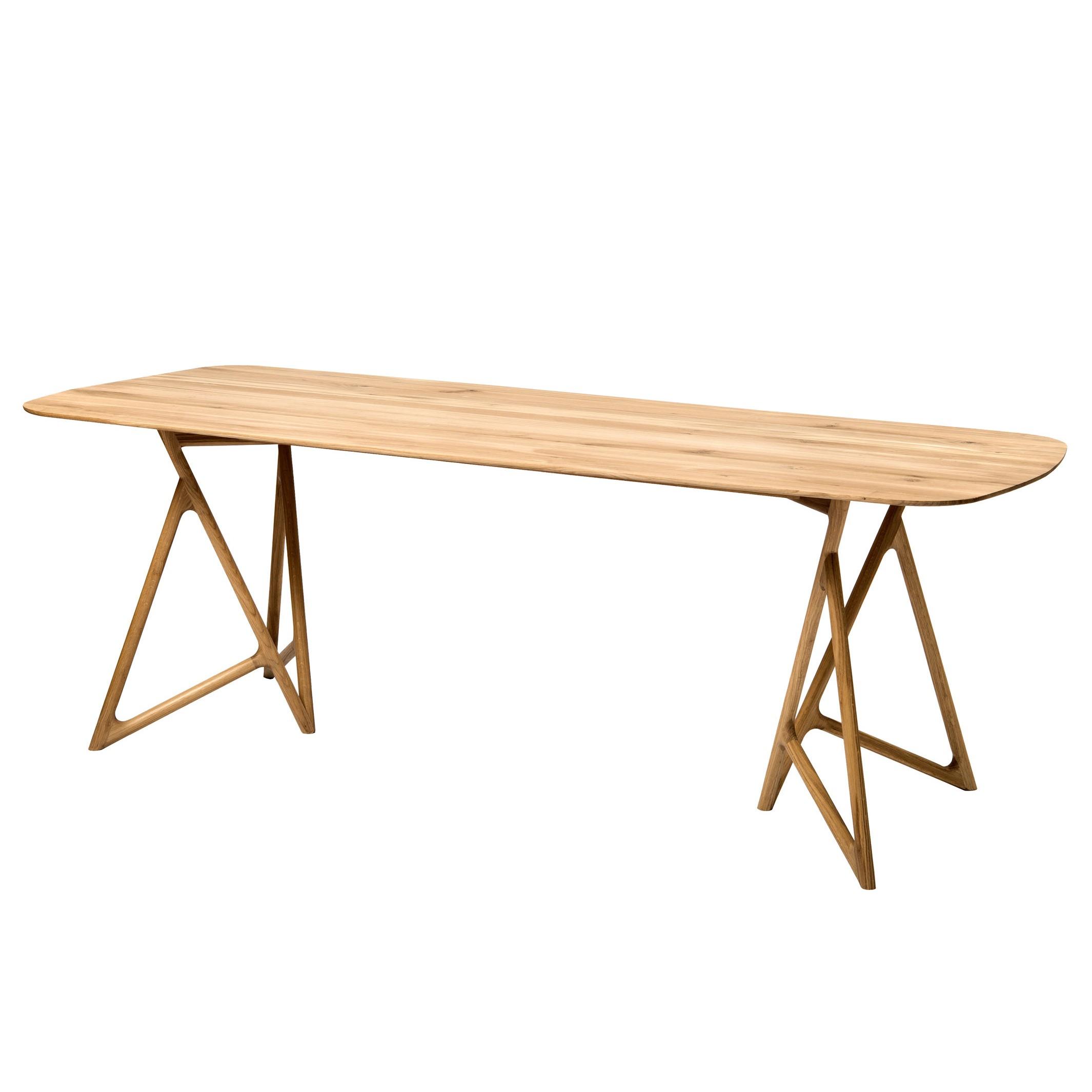 Table à manger Koza - Chêne massif - Chêne - 160 x 90 cm, Studio Copenhagen