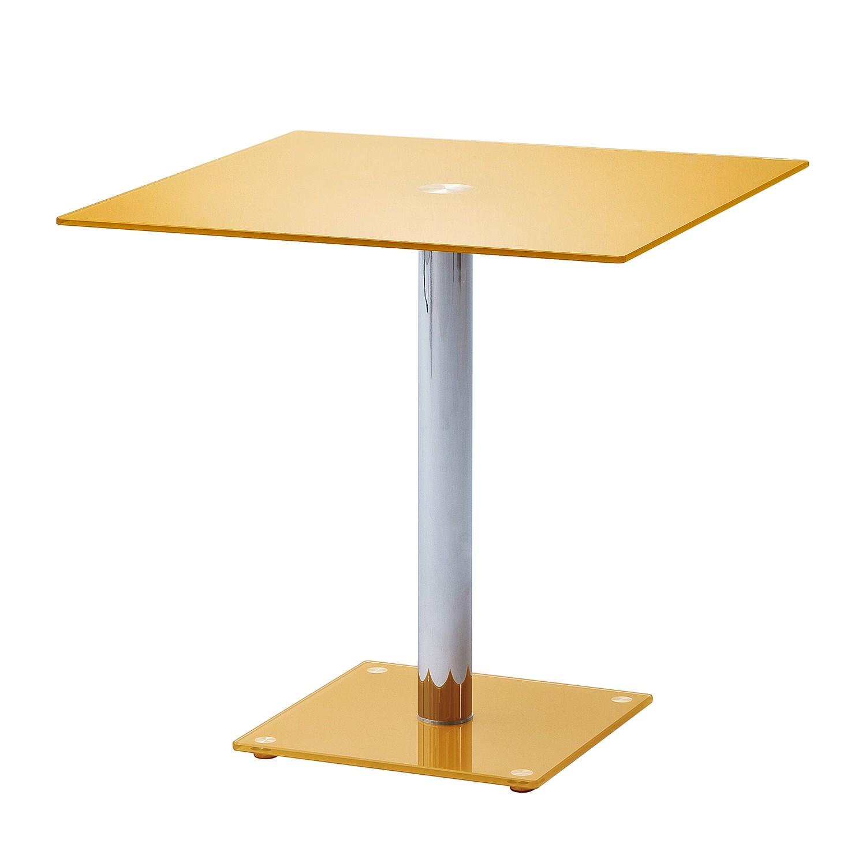 Tavolo da pranzo Lestard - Giallo oro, roomscape