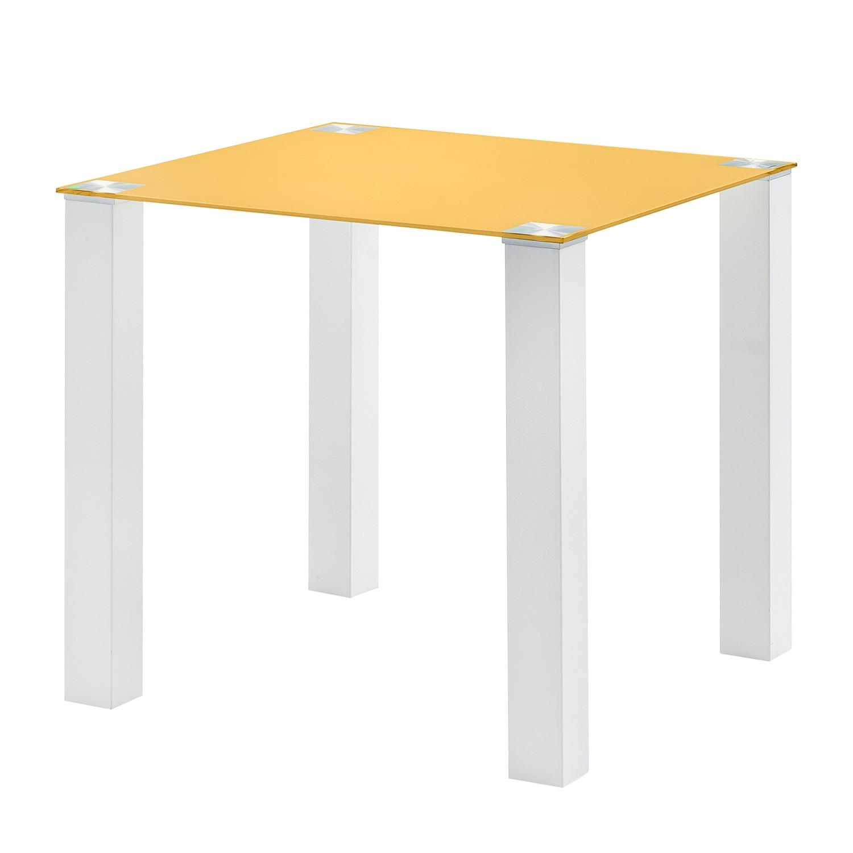 Tavolo da pranzo Monty I - Giallo oro, roomscape