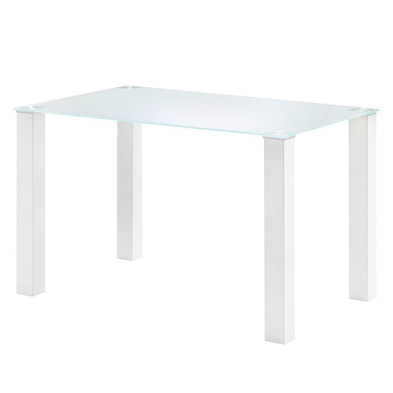 Tavolo da pranzo Monty II - Bianco - 120 x 80 cm, roomscape