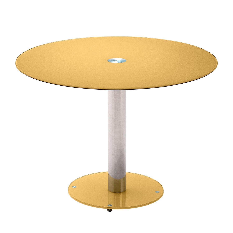 Tavolo da pranzo Nutley - Giallo oro, roomscape