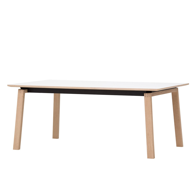 Table à manger Stig I - Blanc / Chêne, Studio Copenhagen