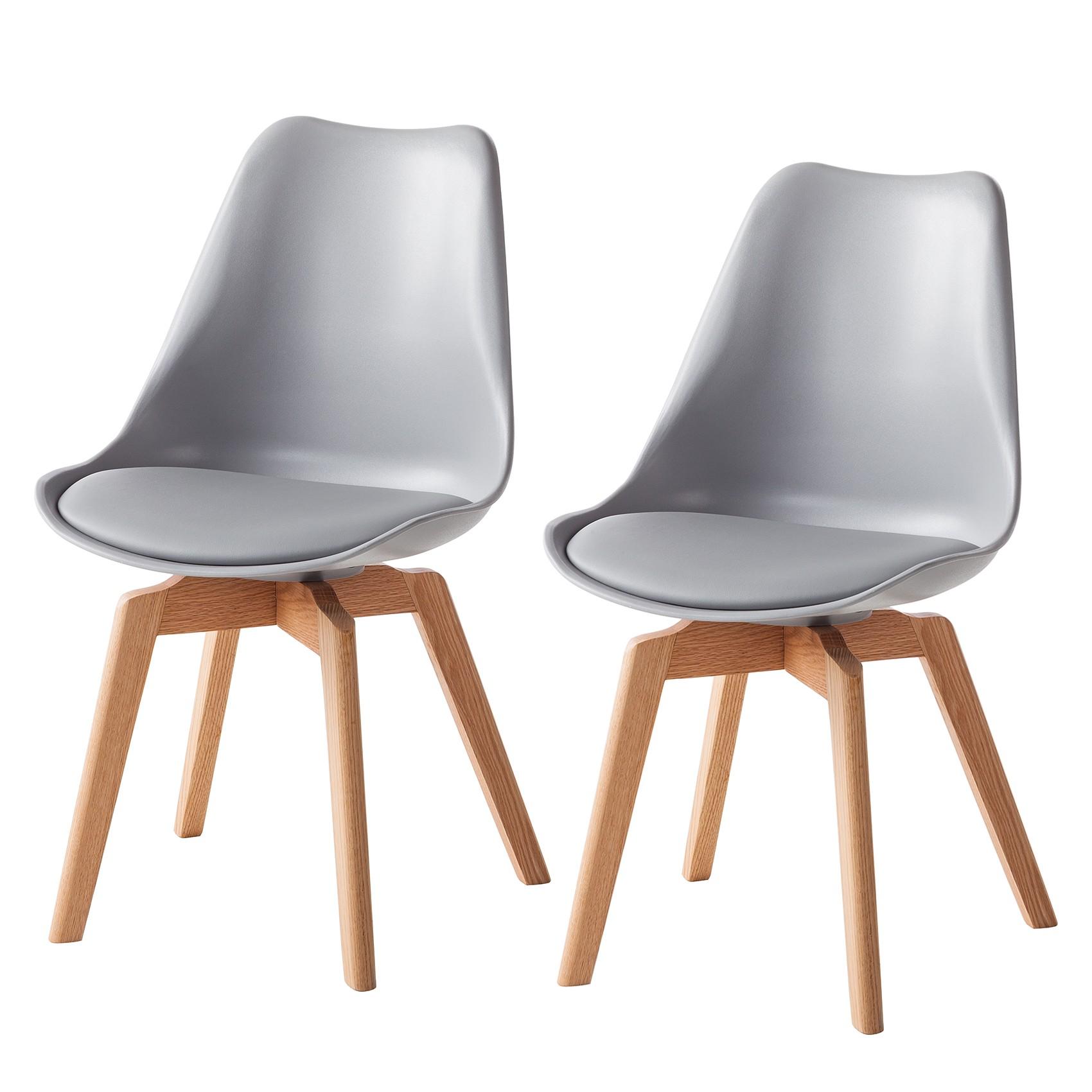 Bemerkenswert Esszimmerstühle Grau Stoff Ideen Von Esszimmerstuhl Woodwynn (2er-set)