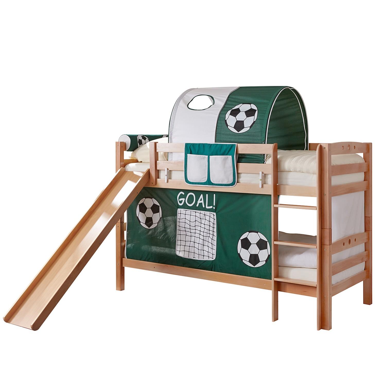 home24 Etagenbett Lupo | Kinderzimmer > Kinderbetten > Etagenbetten | Braun | Massivholz | Ticaa