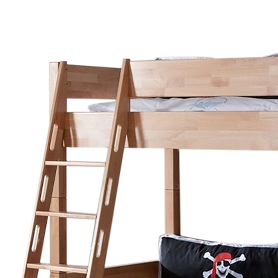hochbett massivholz buche latest cool hochbett spielbett kinderbett mit rutsche turm vorhang x. Black Bedroom Furniture Sets. Home Design Ideas