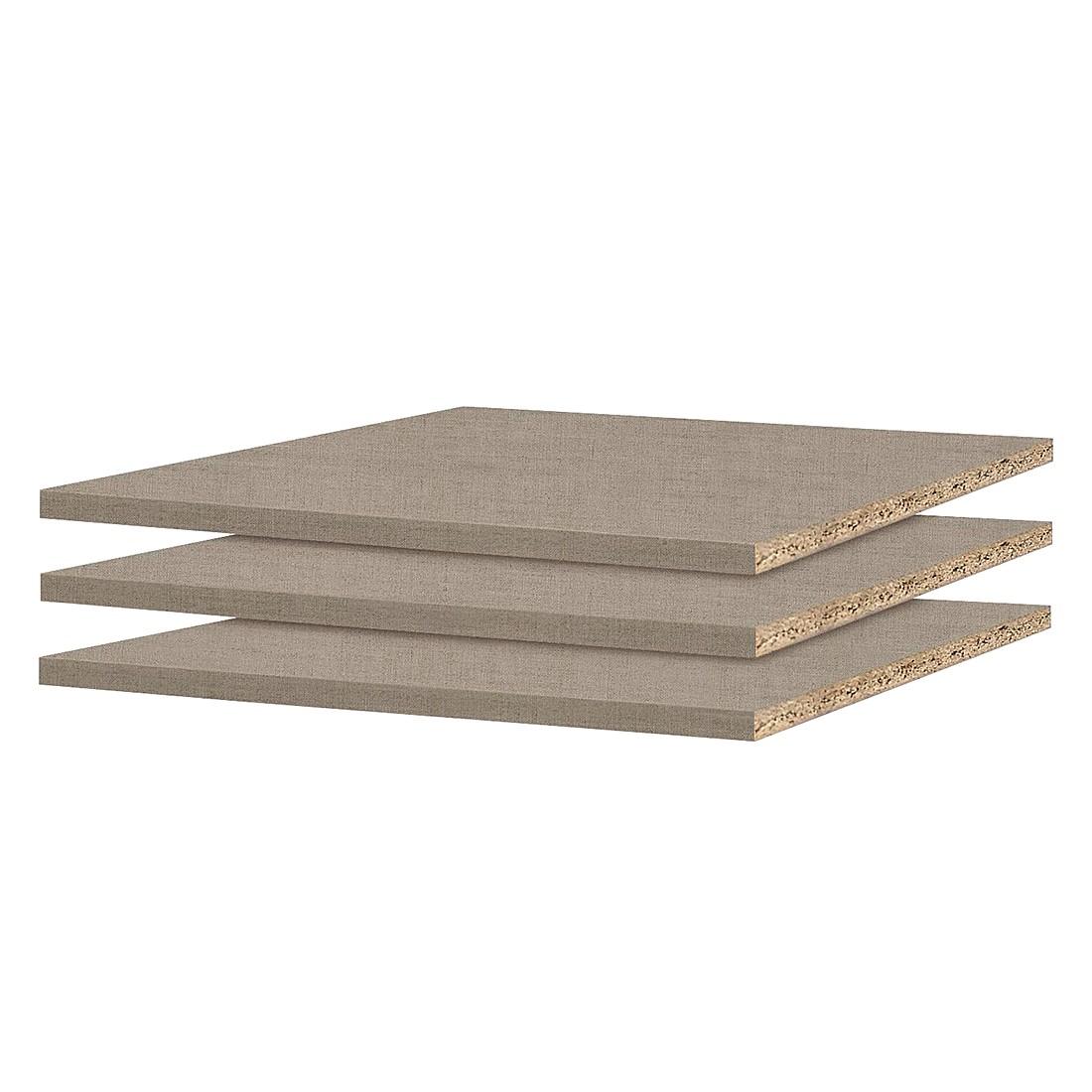 Inlegplanken Quadra (3 delige set) geschikt voor kastelementen met een breedte van 66cm en een diepte van 62cm, Rauch Packs