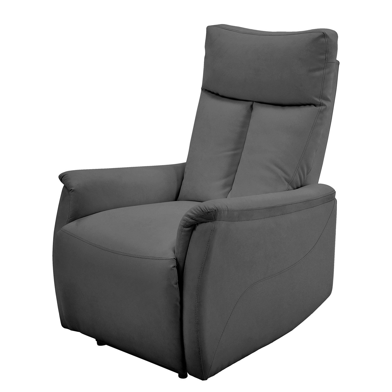 goedkoop Tv fauteuil Tarata kunstleer donkergrijs Fredriks