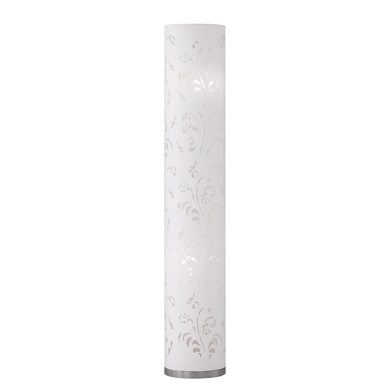home24 Stehleuchte Flora II | Lampen > Stehlampen | Silber | Metall - Textil | Honsel