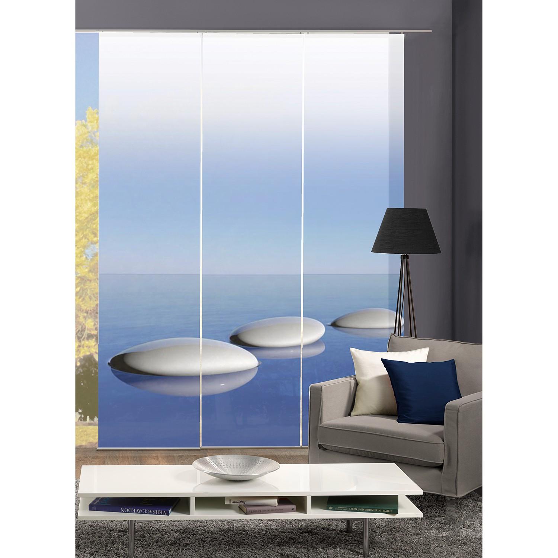 Schuifgordijnen Blue (3-delige Set)