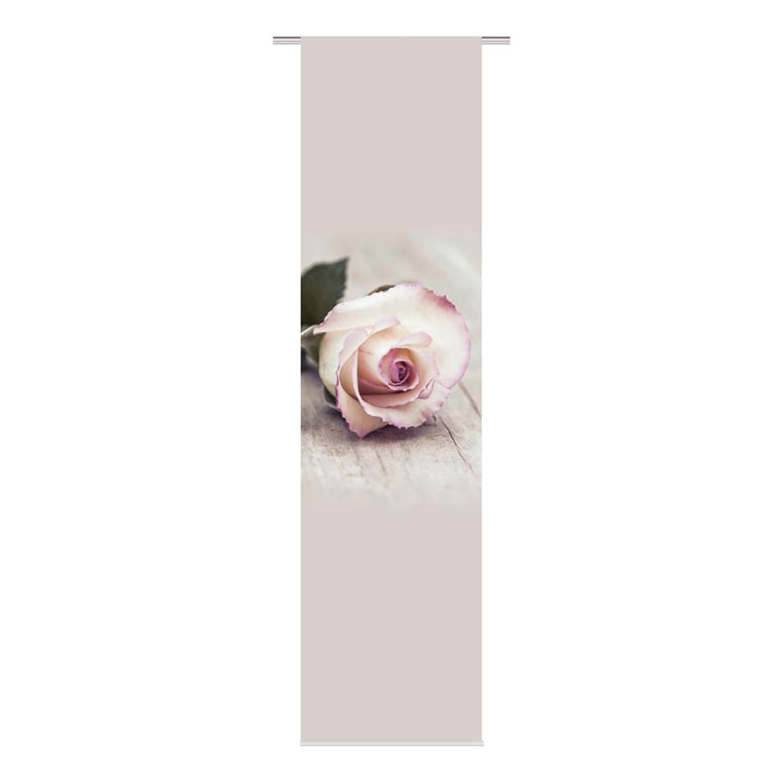 home24 Schiebevorhang Rosy | Heimtextilien > Gardinen und Vorhänge > Schiebegardinen und Schiebevorhänge | Beige | Textil | twentyfour