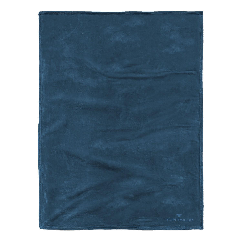 home24 Fleece Decke Angorina   Heimtextilien > Decken und Kissen > Mehr-Decken   Blau   Textil   Tom Tailor