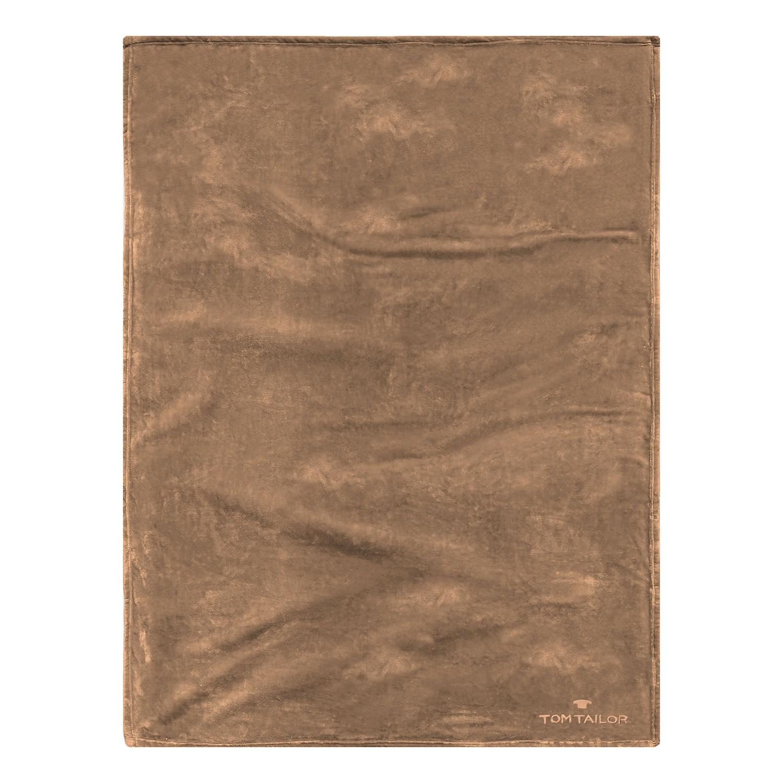 home24 Fleecedecke Angorina   Heimtextilien > Decken und Kissen > Mehr-Decken   Braun   Textil   Tom Tailor