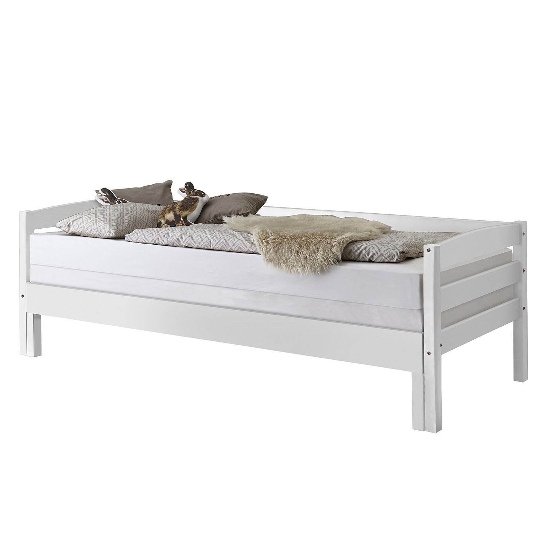 Funktionsbett Emilia (inkl. Lattenrost) | Schlafzimmer > Betten > Funktionsbetten | Weiss | Massivholz | Relita