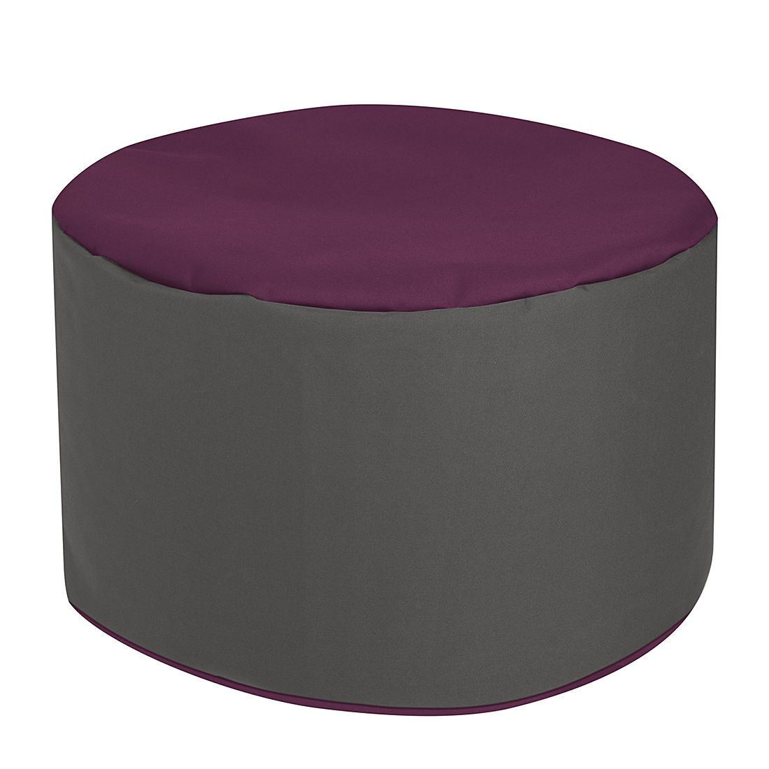 goedkoop Voetenbank Bebop Scuba Aubergine SITTING POINT