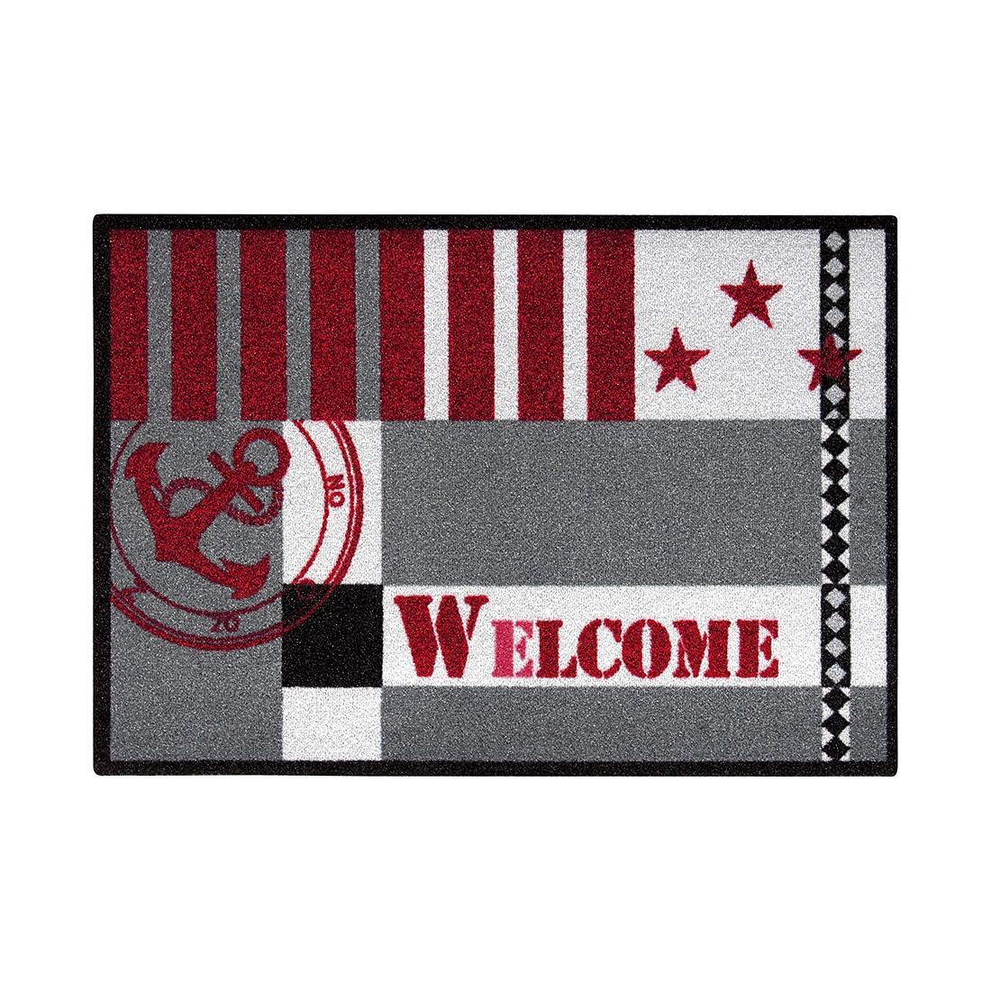 Fussmatte Metropolitan Welcome Marine | Heimtextilien > Fussmatten | Schwarz | Textil | andiamo