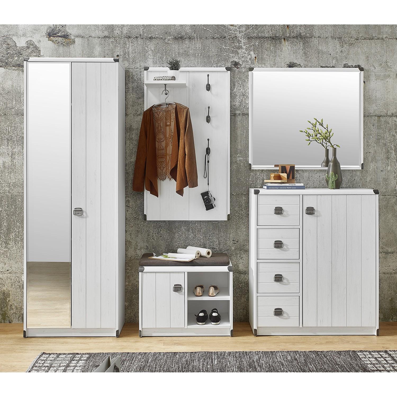 garderoben set wei preisvergleich die besten angebote online kaufen. Black Bedroom Furniture Sets. Home Design Ideas