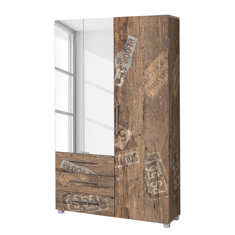Garderobenschrank Aliane I - Eiche Panama Dekor, Schildmeyer